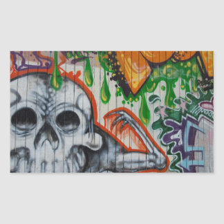 Graffiti Rectangular Sticker