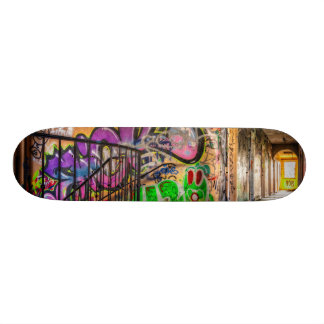 Graffiti Street Art Abandoned Building Skateboard