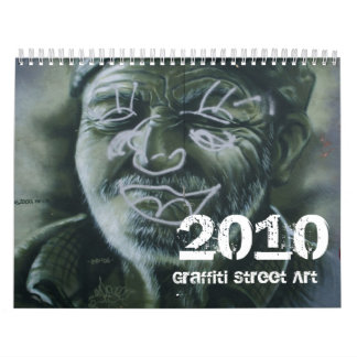Graffiti Street Art Calendar 2010