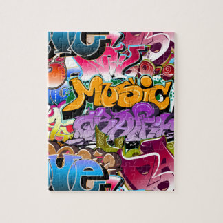 Graffiti Street Art Jigsaw Puzzle