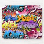 Graffiti Street Art Mousepad