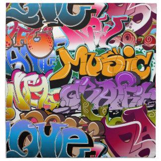 Graffiti Street Art Napkin