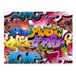 Graffiti Street Art Post Cards