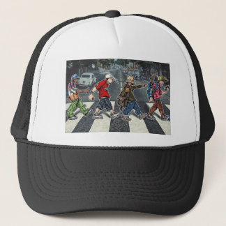 Graffiti street walk Trucker hat