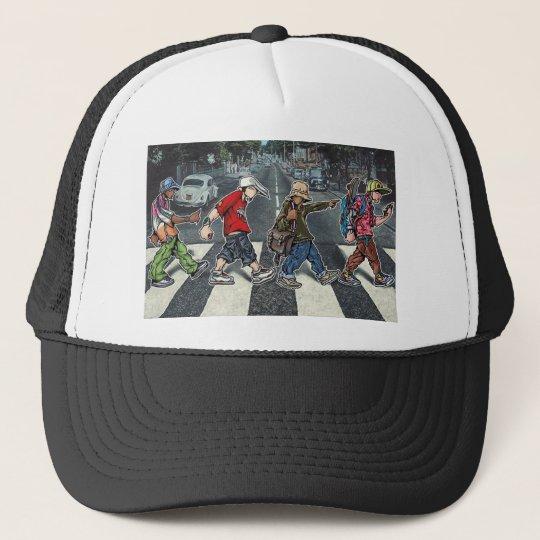 Graffiti street walk Trucker hat