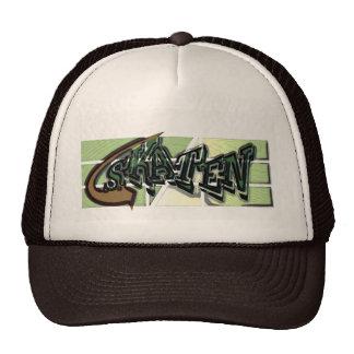 Graffiti style cap for Skater in Tan brown