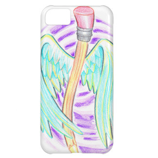 Graffiti Style Flying Pencil iPhone 5C Case