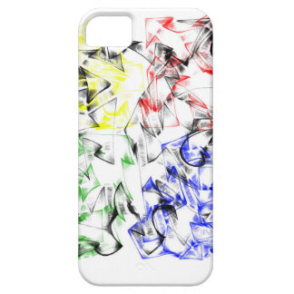 Graffiti Style iPhone 5 Case