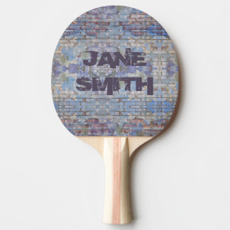 Graffiti Style Personalized Ping Pong Paddle