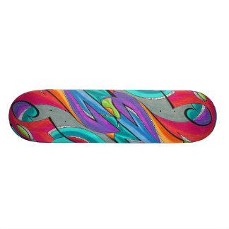 Graffiti Sway Skateboard | Customizable