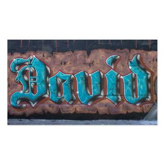 Graffiti Tag David Business Cards