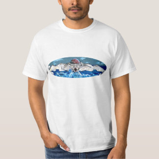 Graffiti : the swimmer - T-Shirt