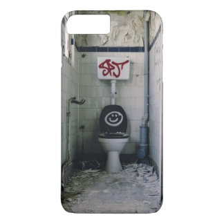 Graffiti Themed, Graffiti Spraypainted On A Toilet iPhone 7 Plus Case