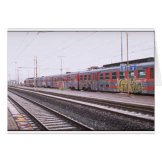 graffiti train card