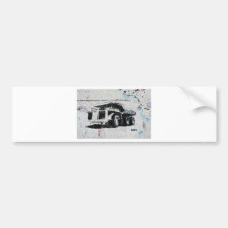 Graffiti Truck Bumper Sticker