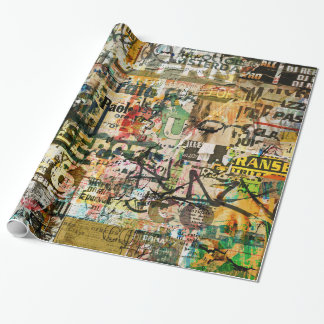 graffiti urban wrapping paper