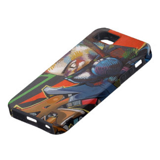 Graffiti Wall Art Tough iPhone 5 Case