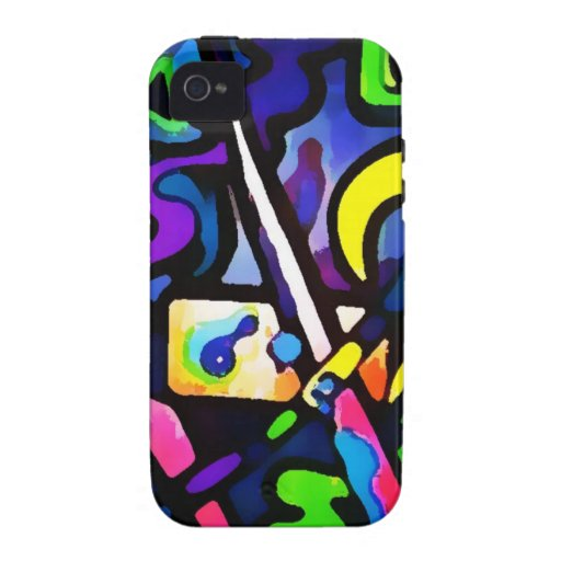 Graffiti, Wall art, Youth, Spray Paint, Colourful iPhone 4/4S Cover