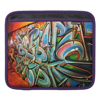 Graffiti Wall iPad Sleeve