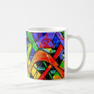 Graffiti wallart! basic white mug