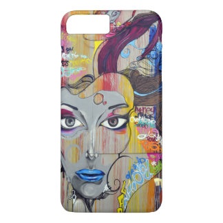 Graffiti Woman iPhone 7 Plus Case