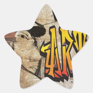Grafiti Artist Star Sticker