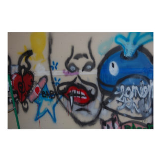 Grafitti art poster