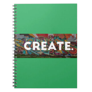 Grafitti Brushed CREATE notebook