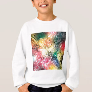 Grafitti Colour Paint Splash Sweatshirt