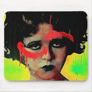 Grafitti Goddess Mouse Mat