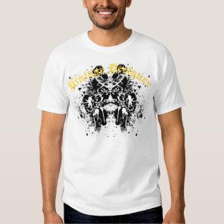 Grafitti Paint Splatter Royal Lion and Birds T Shirts
