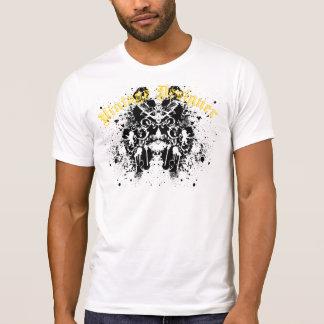 Grafitti Paint Splatter Royal Lion and Birds Tee Shirt