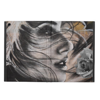 Grafitti woman Ipad case