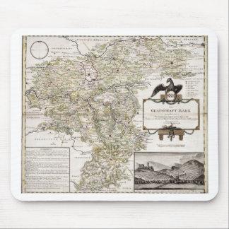 Grafschaft Mark 1791 Friedrich - Old map Mouse Pad