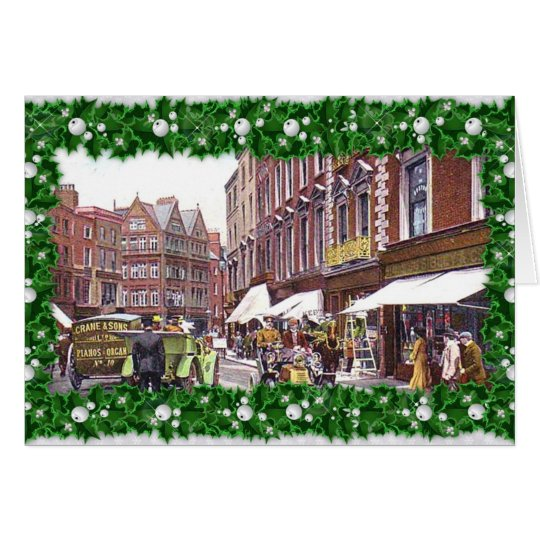 Grafton Street, Dublin Christmas Card