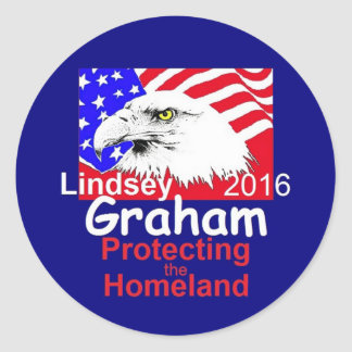 GRAHAM 2016 CLASSIC ROUND STICKER
