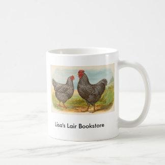 Graham - Barred Plymouth Rocks Chickens Promo Basic White Mug