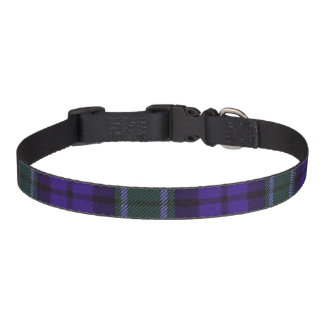 Graham clan Plaid Scottish tartan Dog Collars