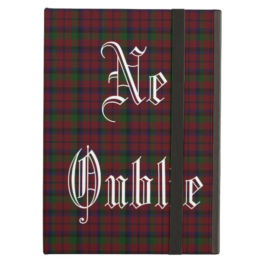Graham Clan Red Montrose Tartan iPad Case