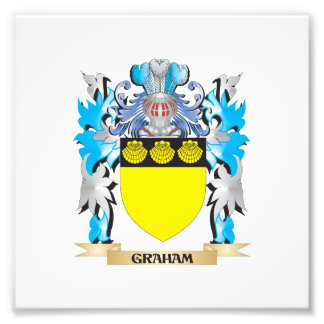 Graham Coat of Arms - Family Crest Photo Art