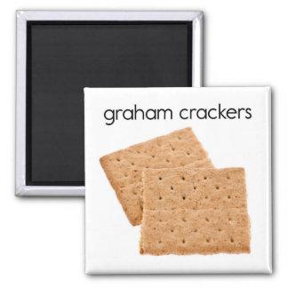 Graham Crackers Refrigerator Magnet