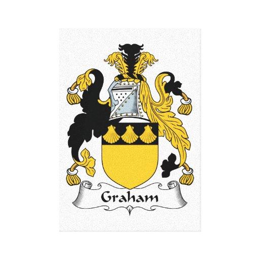 Graham Family Crest Canvas Print