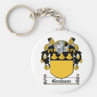 Graham Family Crest Key Chains