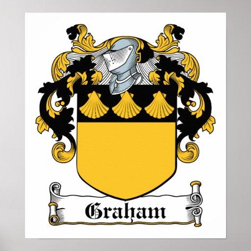 Graham Family Crest Print