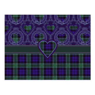 Graham Scottish tartan Postcard