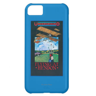 Grahame-White And Plane over Aerodrome Poster iPhone 5C Case