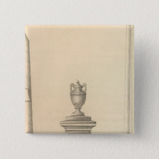 Graham's Marble and Granite Monument Works 15 Cm Square Badge
