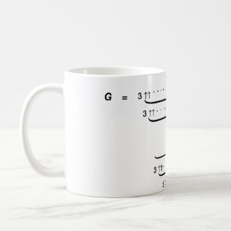 """GRAHAM'S NUMBER"" BASIC WHITE MUG"