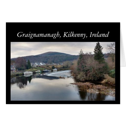 Graignamanagh, Kilkenny, Ireland Greeting Card