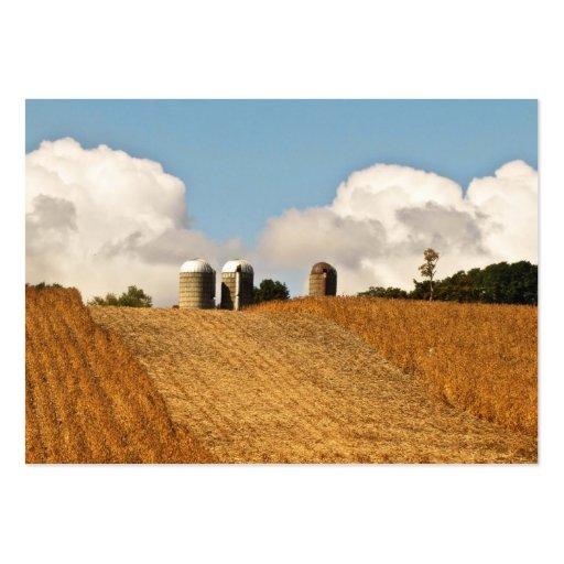 Grain Harvest ATC Business Card Templates